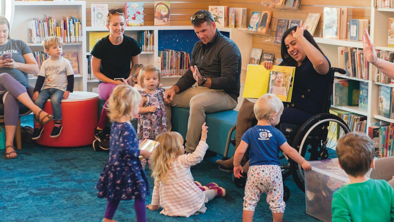 SMCL children's story time