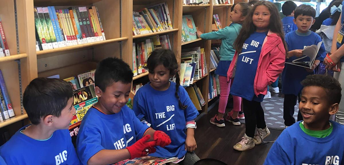 youth library programs - The Big Lift scholars